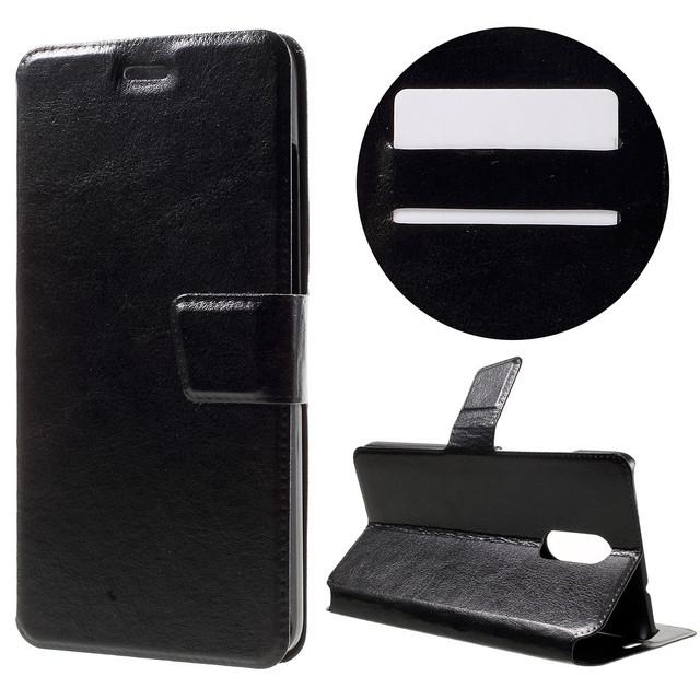 черный чехол книжка на Xiaomi 3 PRO