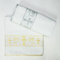 Крестильное полотенце - Крыжма хлопок 70*140 см. Турция, фото 1