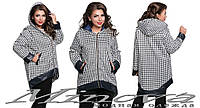 Куртка ФО №252 гусиная лапка,размеры 50-52 54-56