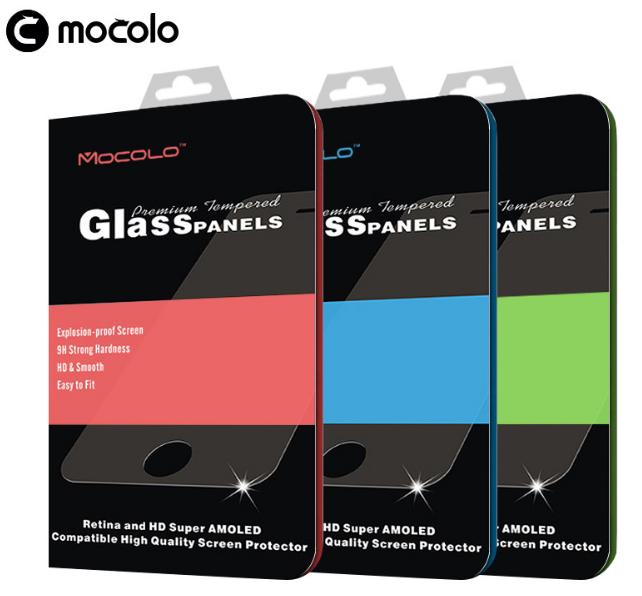 Защитное стекло 0,33 мм Mocolo для Xiaomi Mi5s Plus с черной рамкой