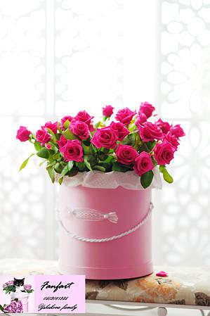"""Цветы в шляпной коробке """"Роскошь Богов"""""""