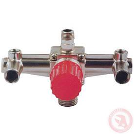 Контрольно-розподільний блок компресора з регулятором тиску INTERTOOL PT-9092