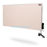 Панельний керамічний електрообігрівач з терморегулятором DIMOL Maxi 05 (кремовий)