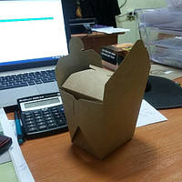 Упаковка для лапши WOK из Крафт картона