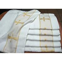 Крестильное полотенце - Крыжма хлопок 70 на 140 см. Турция, фото 1