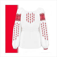 Заготовка для сорочки-вышиванки для девочки