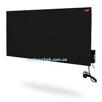 Панельний керамічний електрообігрівач з терморегулятором DIMOL Maxi 05 (графітовий)