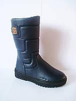 Модные подростковые зимние сапожки для девочки, р. 33-38