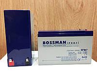 Аккумулятор 12V 7Ah Bossman profi 6FM7 - LA1270