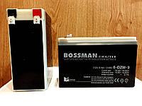 Аккумулятор 12V 9Ah Bossman-Master 6DZM9