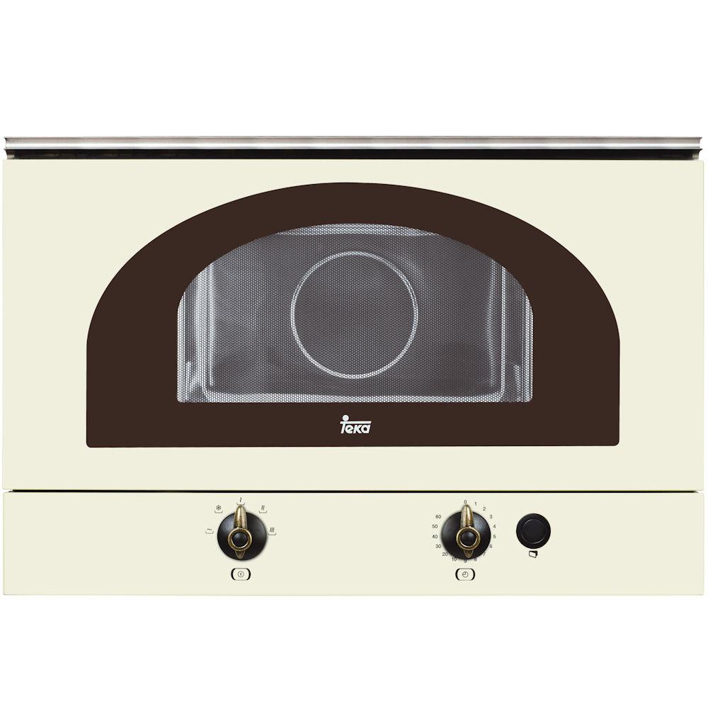 Встраиваемая микроволновая печь кремовая TEKA  MWR 22 BI creame