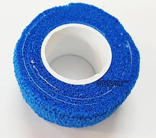 Защитный пластырь ( бинт)  для ногтей Skin-Rap голубой №1