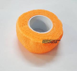 Защитный пластырь ( бинт)  для ногтей Skin-Rap оранжевый №2