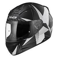Шлем LS2 FF352 Rookie BRILLIANT, MATT BLACK TITANIUM, XS