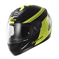LS2 FF352 ROOKIE FLUO, BLACK HI-VIS YELLOW, S