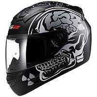 Шлем LS2 FF352 Rookie X-RAY, MATT BLACK, XS