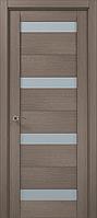 """Двери межкомнатные Папа Карло """"Milenium ML-03"""" дуб серый брашированный"""