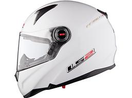 Шлем LS2 FF396 FT2 SINGLE MONO, GLOSS WHITE, L