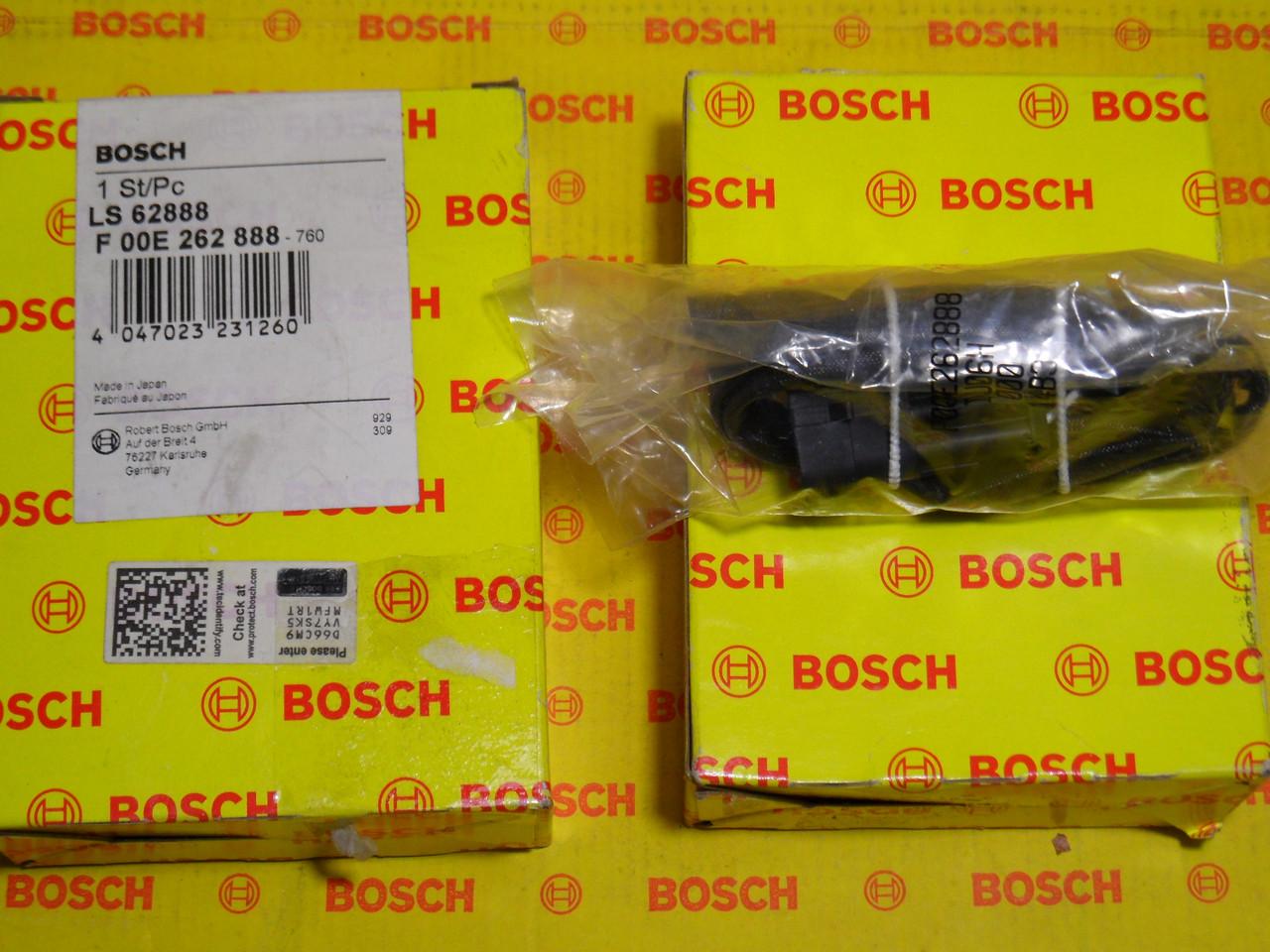 Лямбда-зонды Bosch, F00E262888, F 00E 262 888, 90528253, Opel Vectra B