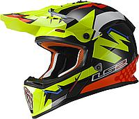 Шлем LS2 MX437 FAST ISAAC VIÑALES REPLICA, XXL