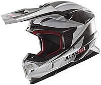 Шлем LS2 MX456 LIGHT QUARTZ, WHITE TITANIUM, L