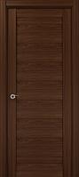"""Двери межкомнатные Папа Карло """"Milenium ML-04"""" орех"""