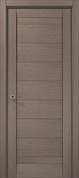"""Двери межкомнатные Папа Карло """"Milenium ML-04"""" дуб серый брашированный"""
