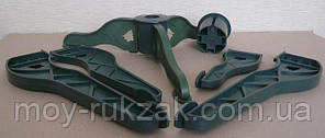 Сосна искусственная натурально - зеленая 2,3 м. макси плюс., фото 3