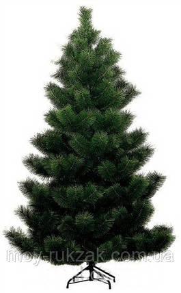 Сосна искусственная темно - зеленая 1,5 м. стандарт, фото 2