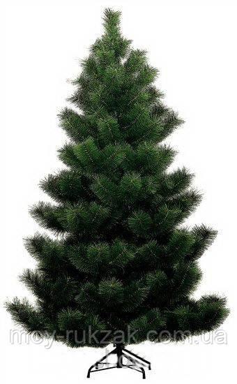 Сосна искусственная темно - зеленая 1,8 м. стандарт плюс