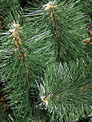 Сосна искусственная темно - зеленая 1,8 м. стандарт плюс, фото 2