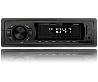 Автомагнитола Fantom FP-315 USB/SD 1 Din Black/Green