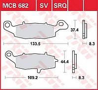 Тормозные колодки TRW / Lucas MCB682