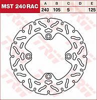 Тормозной диск TRW / Lucas MST240RAC