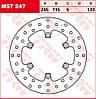 Тормозной диск TRW / Lucas MST247