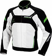 Мотокуртка RS TAICHI Crossover Mesh белый зеленый M