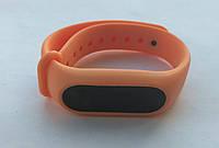 Ремешок браслет для Xiaomi Mi Band 2 оранжевый