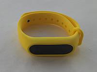 Ремешок браслет для Xiaomi Mi Band 2 желтый