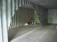 Ремонт и переоборудование контейнеров