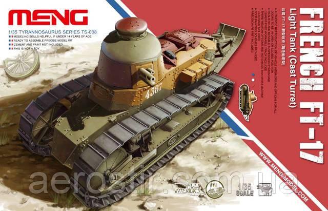 Танк FT-17 1/35 MENG-TS 008