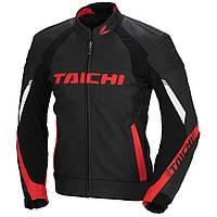 Мотокуртка RS TAICHI Core-1 кожа черный красный 54