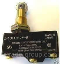 Концевики OMRON Z-10FQ22Y-B