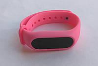 Ремешок браслет для Xiaomi Mi Band 2 розовый