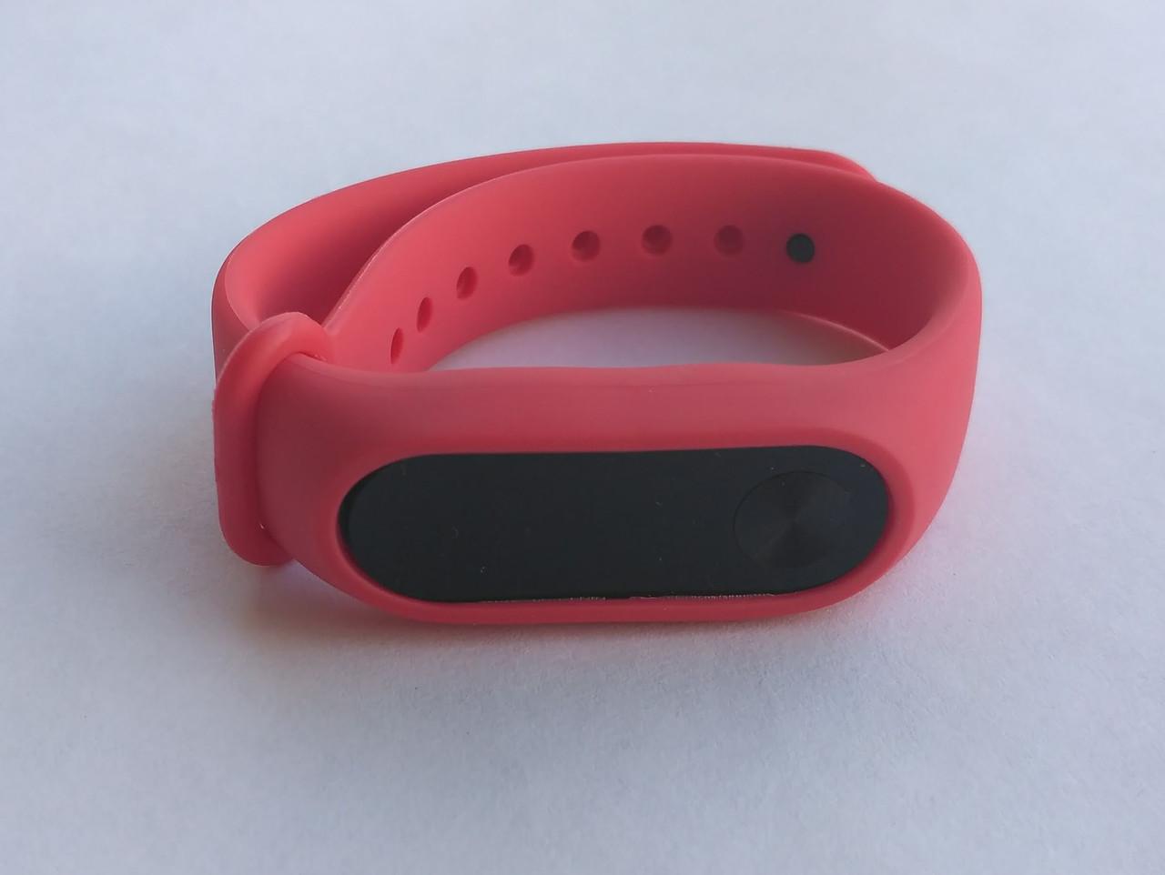 Ремешок Xiaomi Mi Band силиконовый браслет Оранжевый [1092]