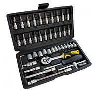 Профессиональный набор инструментов СТАЛЬ 46 единиц 70014