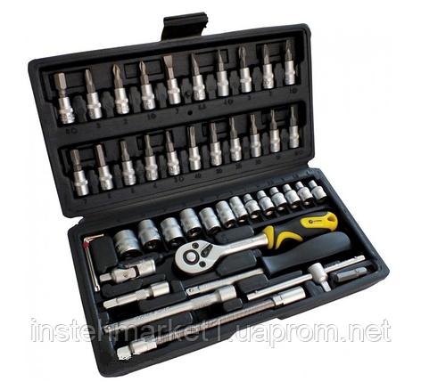 Профессиональный набор инструментов СТАЛЬ 46 единиц 70014, фото 2