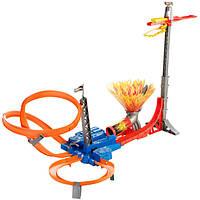 Hot Wheels Трек горячие колеса прыжок в небо sky jump track set