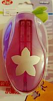 Фигурный дырокол (компостер) Цветок Пятилистник Чашелистник 3.5-4 см