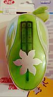 Фигурный дырокол (компостер) Цветок Шестилистник 3.5-4 см
