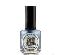 Краска для стемпинга с зеркальным эффектом EL Corazon - Kaleidoscope № 311 Melody mermaids синий